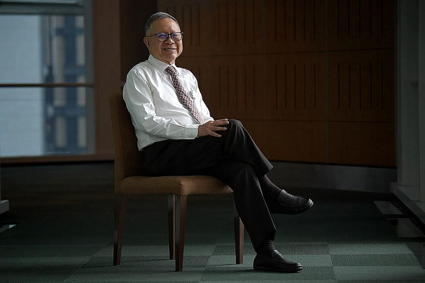 As chairman of the Public Service Commission since 2008, Mr Eddie Teo interviews about 350 students seeking government scholarships every year, among other responsibilities. His long career in public service has also seen him at one point serving as
