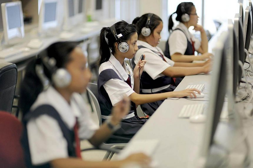 Infocomm Media Development Authority chief executive Tan Kiat How said that students would be better prepared for future jobs in a digital age, many of which we may not be able to imagine today.