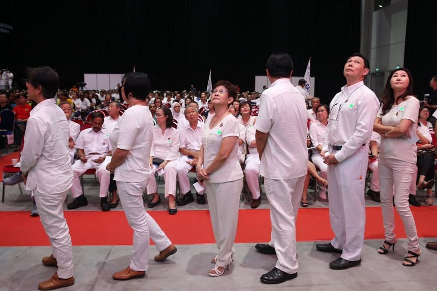 PAP party members waiting to receive their awards at the PAP Awards and Convention 2017.