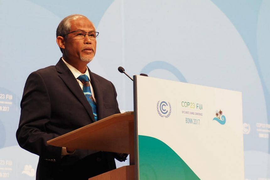 Minister Masagos Zulkifli delivered the National Statement of Singapore at COP23 and announced the designation of 2018 as the Year of Climate Action.