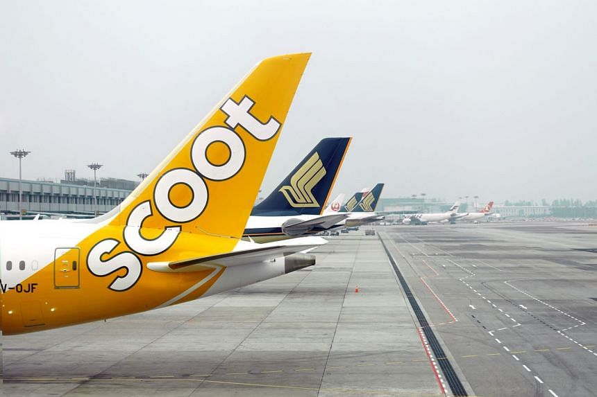 Scoot is about a third as big as SIA in the economy market.