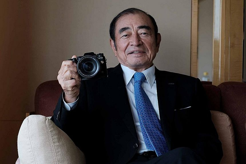 CEO's facelift for Fujifilm includes cosmetics business