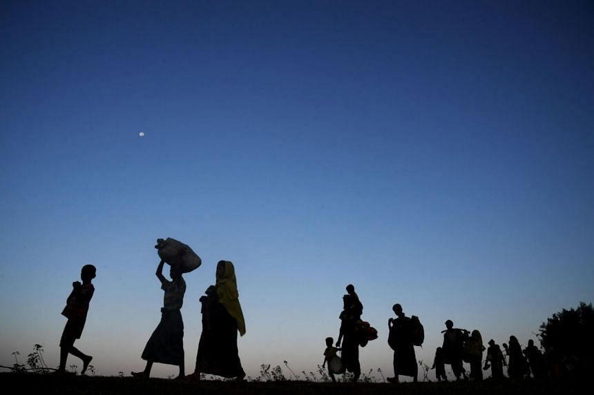 More than 600,000 Muslim Rohingya have fled to Bangladesh since late August, driven out by a military clearance operation in Buddhist majority Myanmar's Rakhine State.