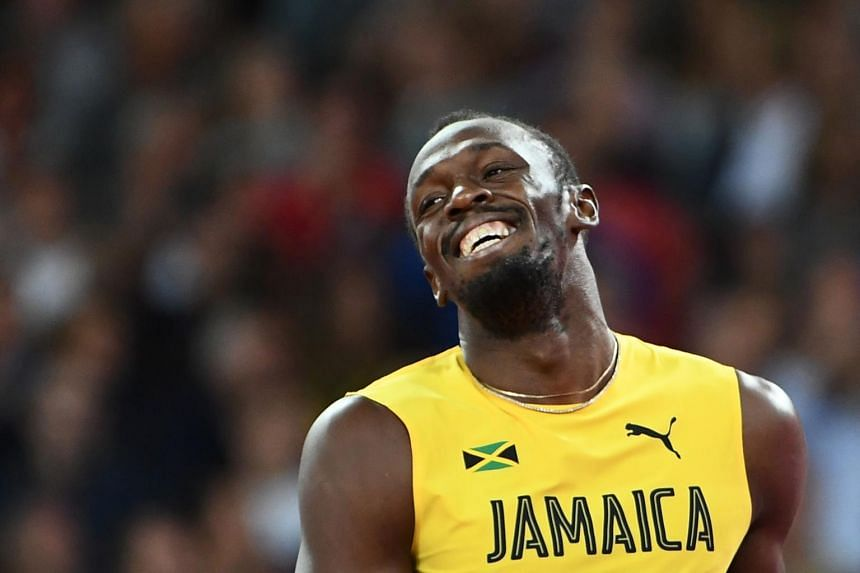 Usain Bolt, 31, who retired from athletics after August's World Championships in London, said he was trying to increase the awareness of running while batting.