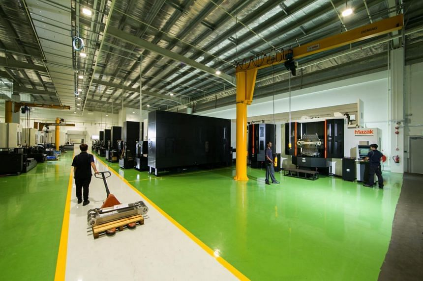 JEP recently invested $35 million in a new 200,000 sq ft smart factory, which opened last week in Seletar Aerospace Park.