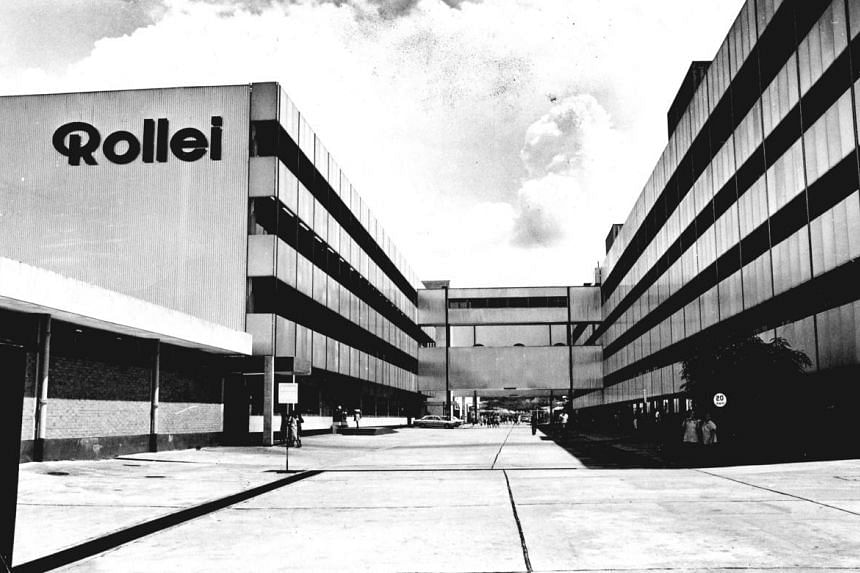 The Rollei factory in Singapore. PHOTO: ST FILE