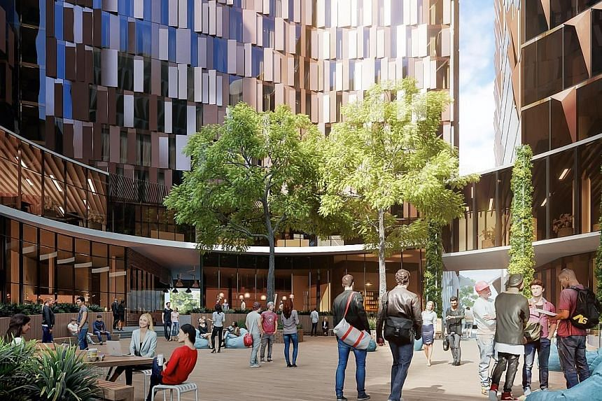 """The """"innovation precinct"""" will be majority pre-leased to the University of Melbourne for 42 years."""