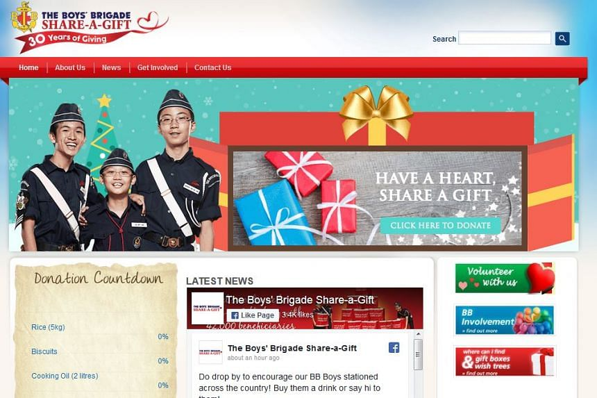 The new 'virtual box' links to NTUC Fairprice's website, where donations will be channelled towards food hampers for beneficiaries.