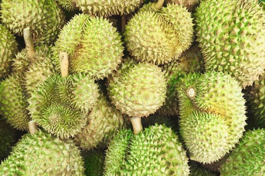 The Agri-Food and Veterinary Authority said it regularly inspects and conducts sampling of imported fruits, including durians.