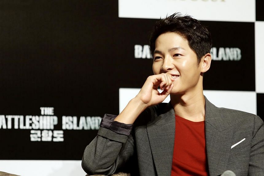 Song Joong Ki will be hosting the Hong Kong leg of the Mnet Asian Music Awards, which will be on Dec 1.