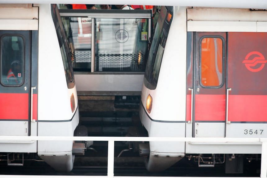 Two trains had collided at Joo Koon MRT station on the morning of Nov 15. The signalling system had mistakenly profiled the stalled vehicle as a three-car train instead of the six-car train that it was.