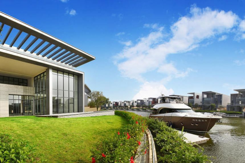 The Keppel Cove projec is an integrated residential and marina development in the Pearl River Delta region of Zhongshan city in Guangdong, China.