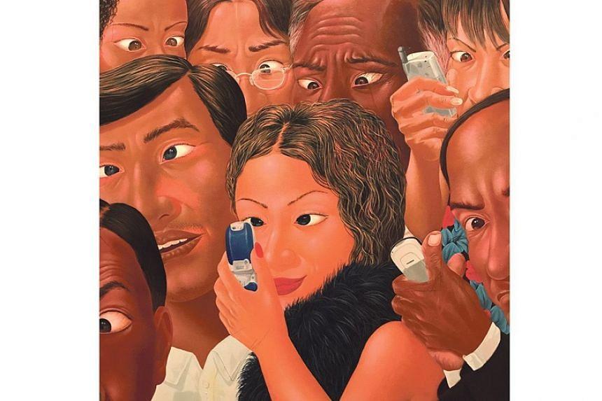 Juling (Cross-eyed) (2005) by Nyoman Masriadi.