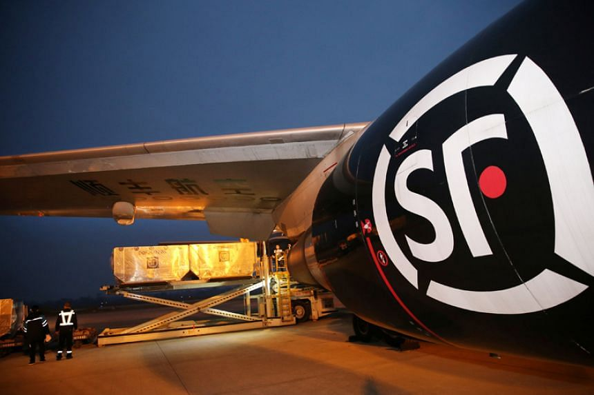 Chinese air cargo company SF Airlines bought two Boeing 747 jumbo jets for over 320 million yuan (S$64 million) on Taobao.