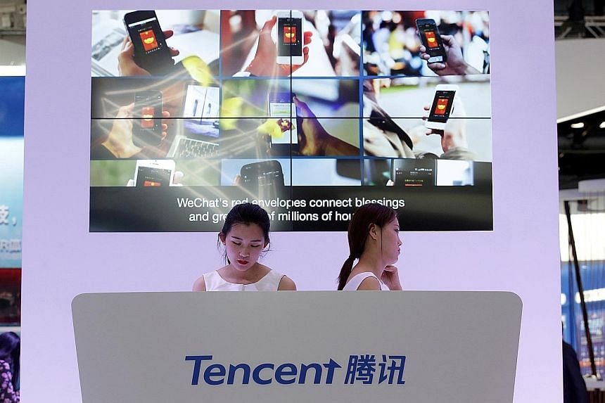 Tencent's WeChat messaging service has close to one billion users, and the firm's online and mobile games brought in over US$4 billion in sales last quarter.