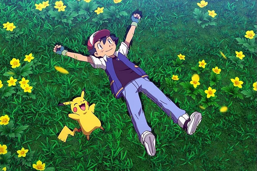 Ash (right) and Pikachu set out on new adventures in Pokemon The Movie: I Choose You.
