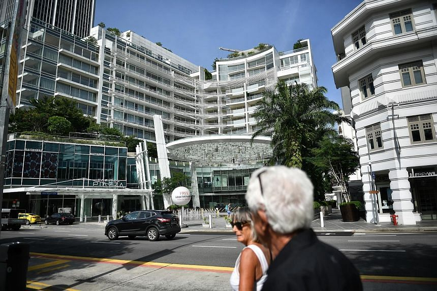 "Russian magnate Sergey Vbornov (above) claims that the apartment at Eden Residences Capitol Singapore (left) has defects including ""poor finishing"" in the living area, and that attempts to rectify the issues have failed. Capitol Residential Developme"