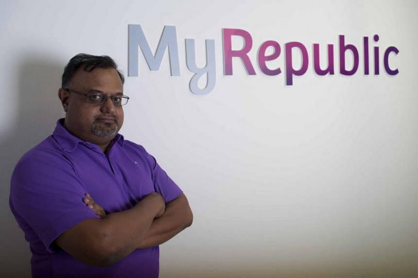 MyRepublic chief executive Malcolm Rodrigues.