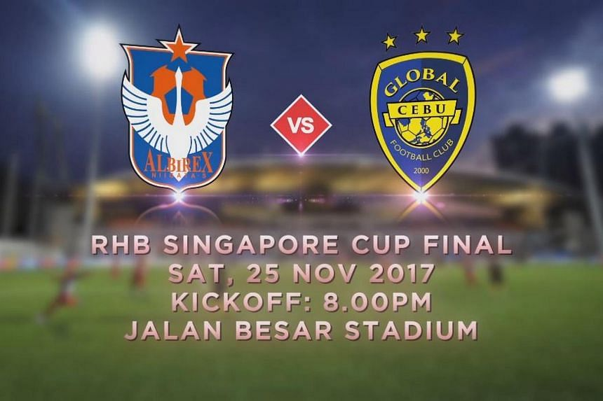 Albirex Niigata was supposed to face off against Global Cebu in the RHB Singapore Cup Final, but players from the Philippine outfit say they will not board the plane to Singapore unless they are payed some of the wages they are owed.