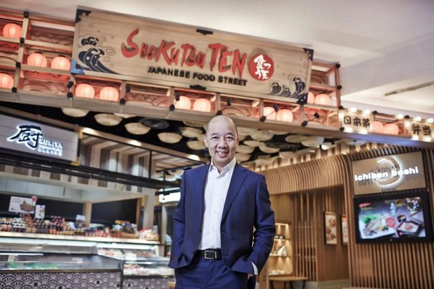 Yek Hong Liat John, executive director and CEO of RE&S Holdings.