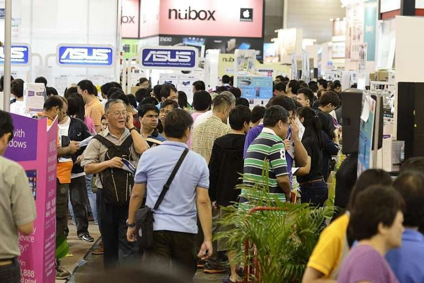 Visitors can look forward to bargains on the latest gadgets and gizmos at Sitex, Singapore's long-running consumer electronics fair.