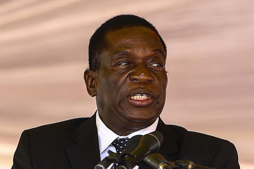 Mr Emmerson Mnangagwa had fled for his own safety after being sacked by then President Robert Mugabe two weeks ago.