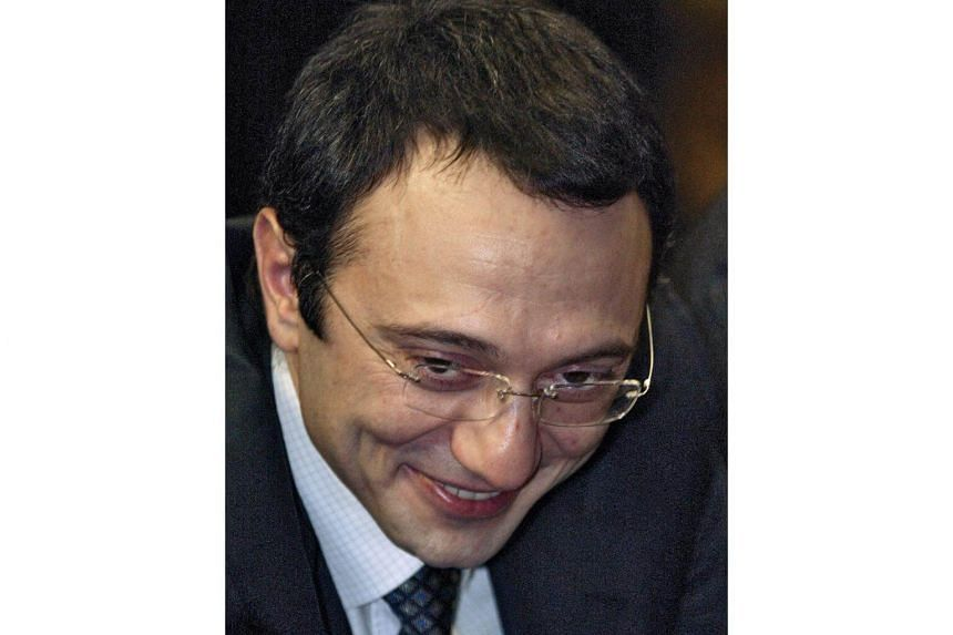 This file photo taken on Nov 26, 2006 shows member of the Russian parliament, Suleyman Kerimov.