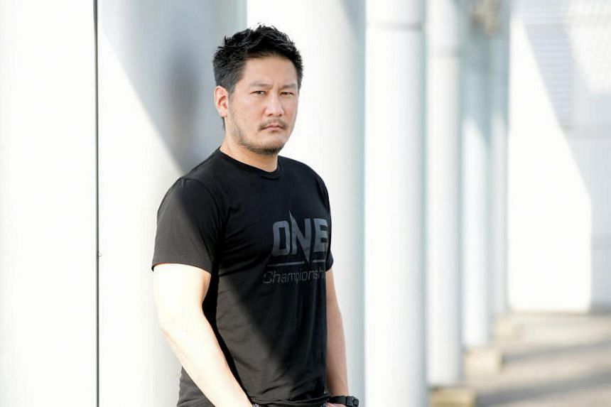 Chatri Sityodtong, chairman and chief executive officer of Singapore-based mixed martial arts promoter One Championship.