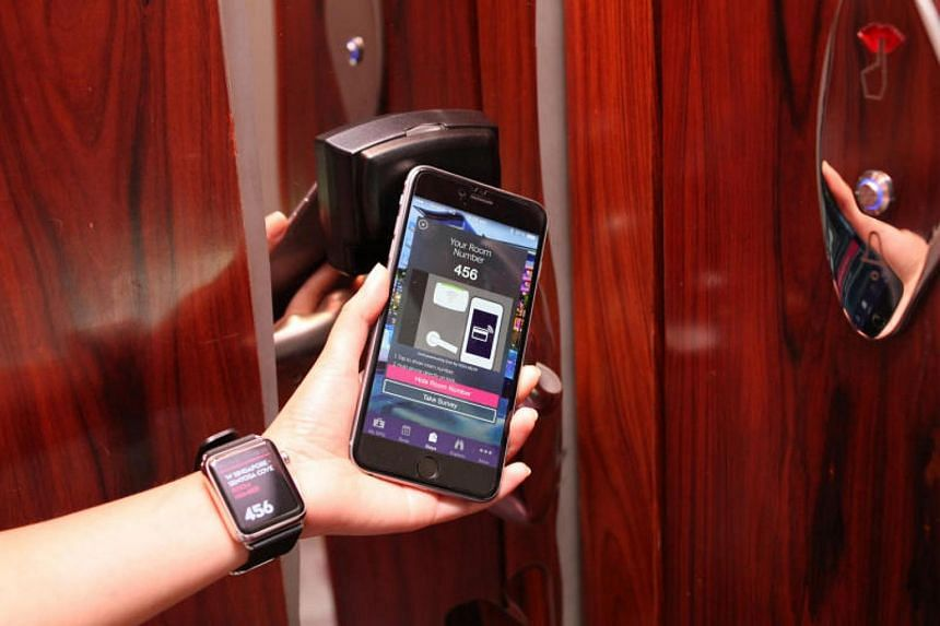 "At W Singapore Sentosa Cove, guests can unlock their rooms with a smartphone thanks to the Starwood Preferred Guest Keyless feature. The Singapore Tourism Board has announced a plan to identify technology that hotels can adopt to become ""smarter""."