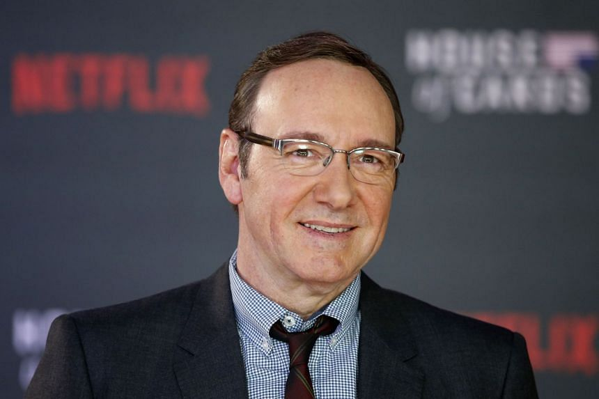 Spacey (above) is facing numerous claims of sexual assault and harassment, as part of a broader scandal in Hollywood.