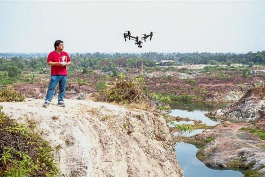 Nearly all drone flying outside home compounds is considered unlawful in Malaysia.