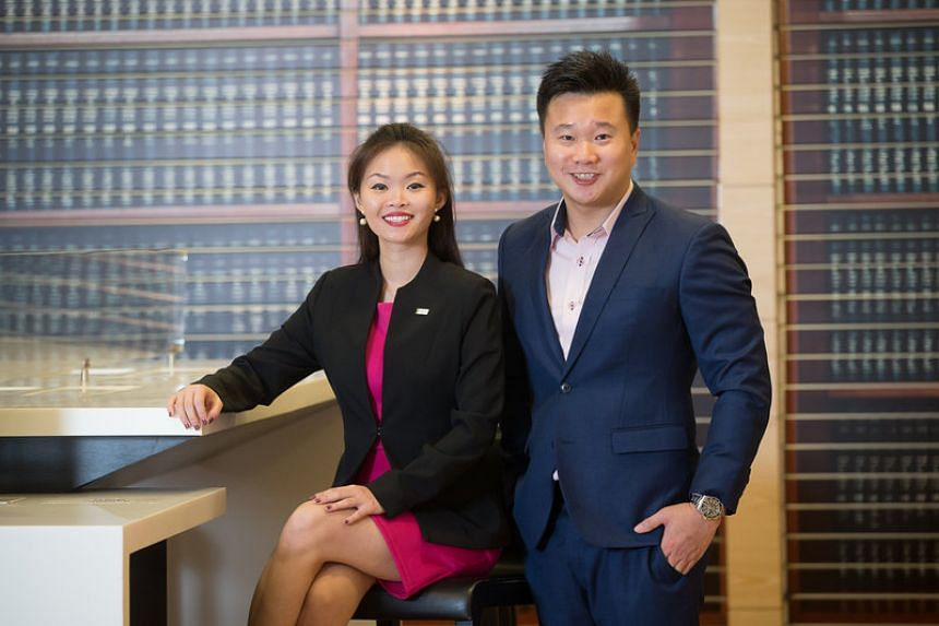 Both Ms Tai and Mr Ang cherish the relationship they have developed with their clients at Great Eastern. PHOTO: RAY CHUA