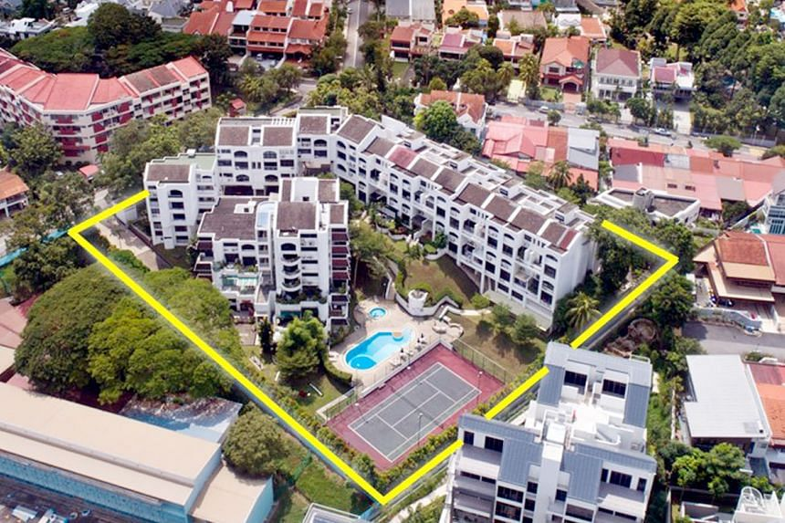 Marketing agent JLL said the Kismis View site may be redeveloped into a low-rise apartment project of up to five storeys, with a total gross floor area of about 140,000 sq ft including a 10 per cent bonus balcony area.