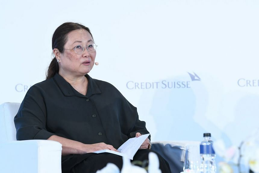 Dr Mary Ann Tsao advises companies considering eldercare philanthropy to go and see what is happening on the ground. PHOTO: CREDIT SUISSE