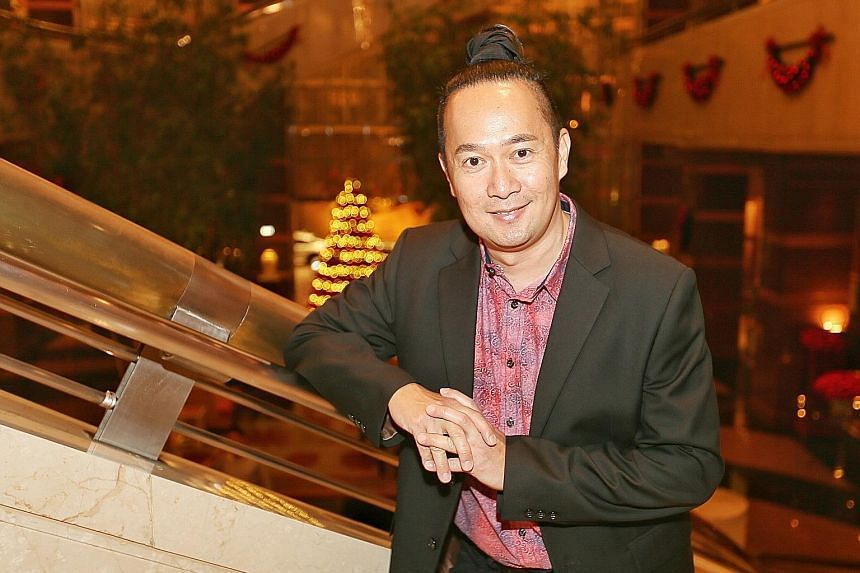 Office executive Sebastian Sim, 51, won the Epigram Books Fiction Prize at an award ceremony and gala dinner held at the Conrad Centennial Singapore hotel yesterday. The prize is for unpublished English-language novels.
