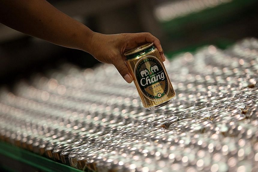 ThaiBev, which produces Chang Beer, has changed its fiscal year end to Sept 30 from Dec 31.