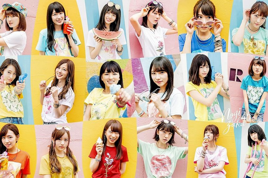 Japanese idol group Nogizaka46, which comprises 46 members, debuted in 2011.