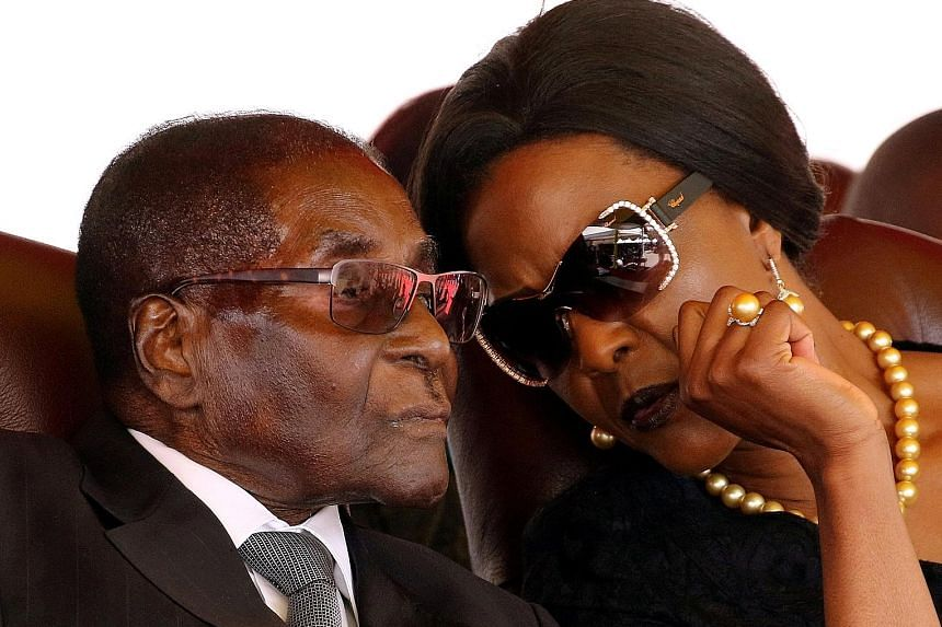 Mr Robert Mugabe and his wife Grace have been assured of their safety, according to sources.