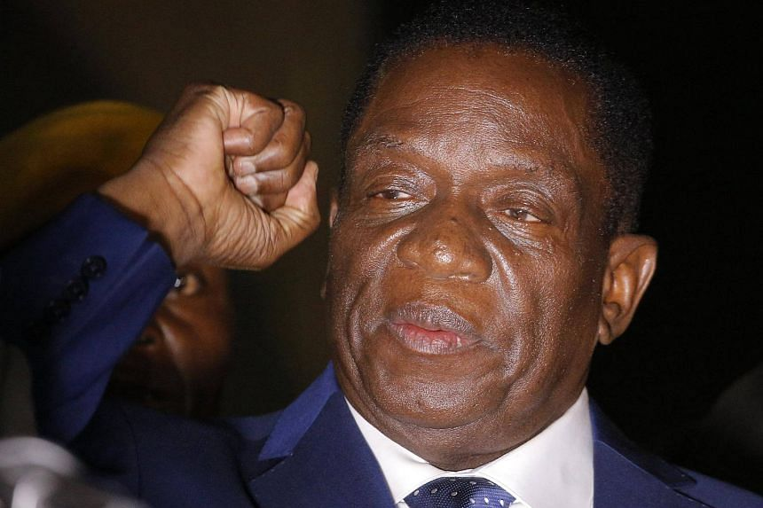 Zimbabwe's Emmerson Mnangagwa is set to be sworn in as president on Nov 24, 2017.