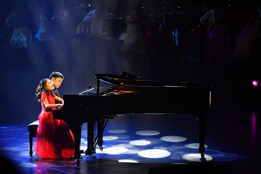 Young talent took to the stage on Nov 24, 2017 to raise more than $2.1 million at the 13th edition of the annual charity concert ChildAid, organised by The Straits Times and The Business Times.