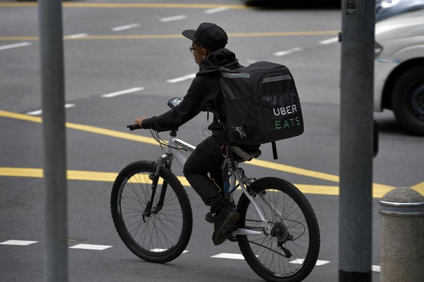 Some Uber users in Singapore have claimed they were fraudulently billed for food deliveries under UberEats.