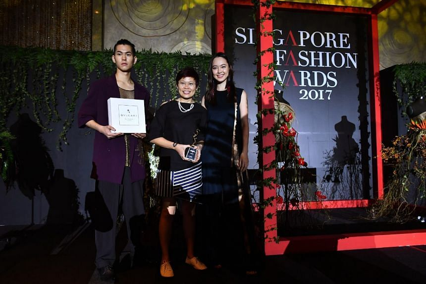 Jewellery designer Carolyn Kan of homegrown jewellery brand Carrie K took triple honours at the Singapore Fashion Awards (SFA) 2017 on Nov 24, 2017.