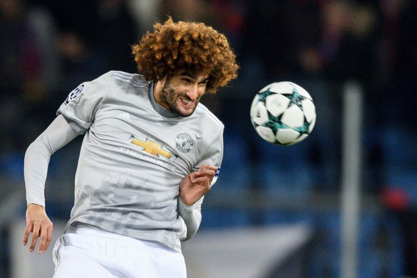 Fellaini (above) is understood to want a longer-term contract than the one currently being offered by the United board.