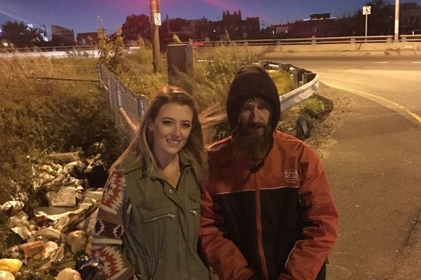 Johnny Bobbitt Jr spent US$20 - the only money he had - to help Kate McClure when she ran out of gas while on her way to Philadelphia.
