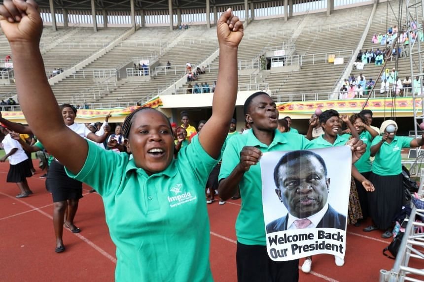Mr Mnangagwa will take the oath of office at the national sports stadium before thousands of supporters, dignitaries and foreign diplomats.