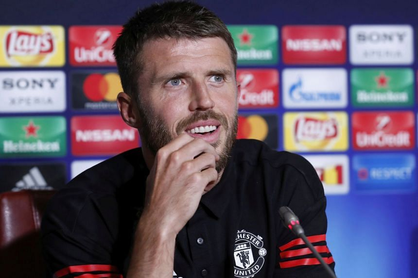 "Carrick (above, in August 2017) said he has had to rebuild his fitness and aimed ""to be back in contention soon""."