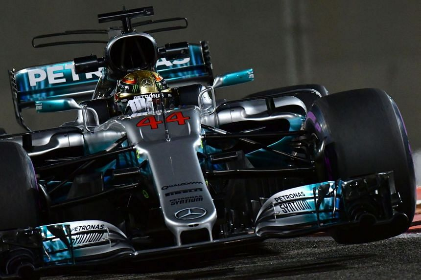 The controversial fins, emanating from the airbox above the driver's head, were introduced this season.