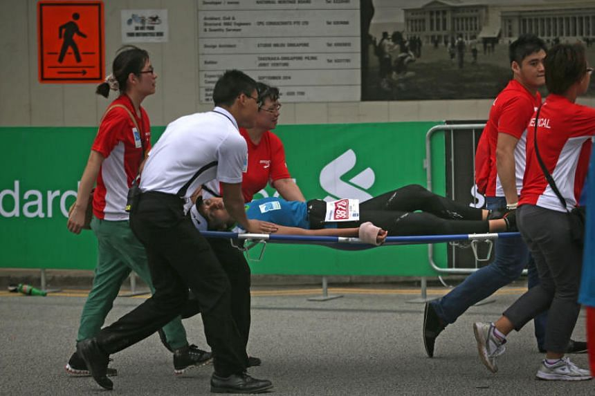 Medical support will be on standby at the Standard Chartered Singapore Marathon on Dec 3.