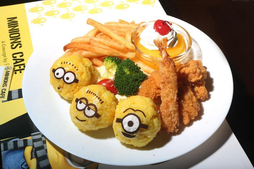 The cafe will be dishing up 14 original Minions-themed food and drinks items.