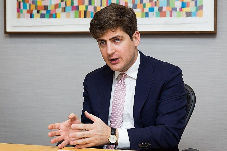 Mr George Efstathopoulos, who joined Fidelity in 2011, is the fund's co-portfolio manager. Mr Eugene Philalithis, lead portfolio manager for Fidelity International's Global Multi Asset Income Fund.